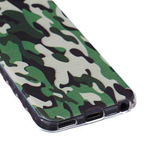Voguecase® für Apple iPhone 5C, Schutzhülle / Case / Cover / Hülle / Ultra Slim Fit TPU Gel Skin (Kleine Gänseblümchen 05) + Gratis Universal Eingabestift Camo