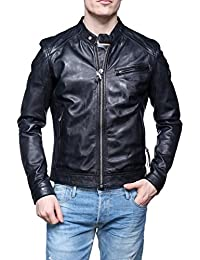 Blouson Cuir Redskins Willow Casting Black