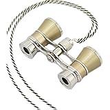 Winomo Télescope jumelles Opéra Télescope jumelles théât Horse Racing, lunettes télescope binoculaire Jumelles de theatre opera - 1 pièce