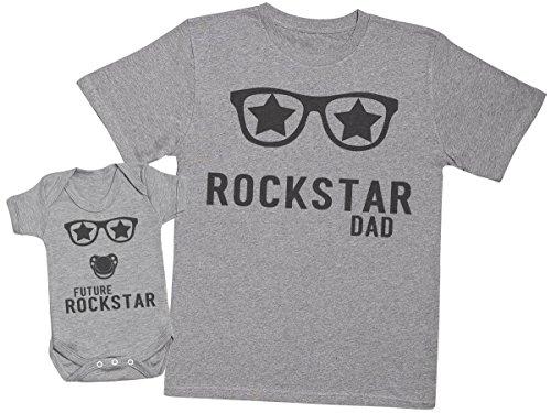 Zarlivia Clothing Future Rockstar Baby - Regalo Padres