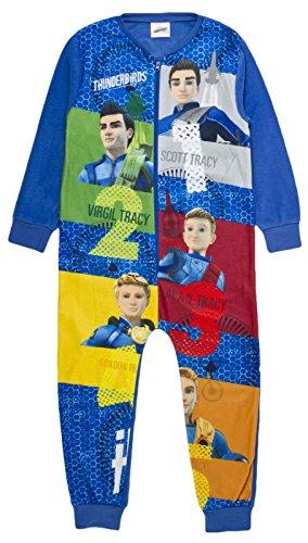 Thunderbirds Jungen Strampelanzug blau multi Gr. 6/7 Jahre, (School Up Dress Girl)
