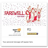 Farewell - E-mail Amazon Pay Gift Card