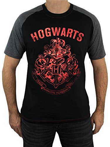 Harry-Potter-Mens-Hogwarts-T-Shirt