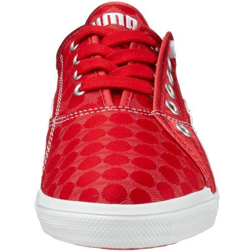 Puma emento Lo Dot WN's 349700, Sneaker da donna in acciaio inox (rot (ribbonred05))