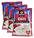 #7: Big Bazaar Combo - Quaker Oats Strawberry and Apple, 40g (Pack of 3) Promo Pack