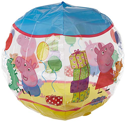 amscan 3126101 15 x 40,6 cm Peppa Pig Orbz Folie Ballons (Pig Peppa Party Favors)