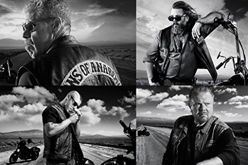 Foto-poster, motivo: Sons of Anarchy 76 x 101 cm Poster 7