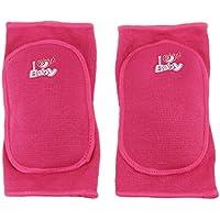 BXT 1 Paar Baumwolle Kinder Knieschutz Baby Knieschoner Sicherheit Schwamm Knieschützer Kniebandage für Sport und Freizeit
