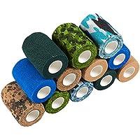 Juvale Selbstklebende Bandage, 12 Stück, selbsthaftende Bandage, Medizinische Tierarztbandage, Erste Hilfe, Sport... preisvergleich bei billige-tabletten.eu
