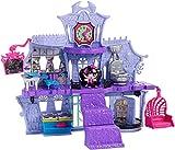 Monster High Minis Spielset - High School für Minis inkl. Draculaura Mini Figur, Schule auf 2 Etagen
