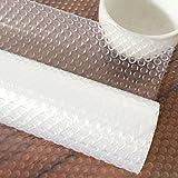 Genmine® Anti-Rutsch Folie - zuschneidbar, Kunststoff - EVA, Transparent,150 x 30cm