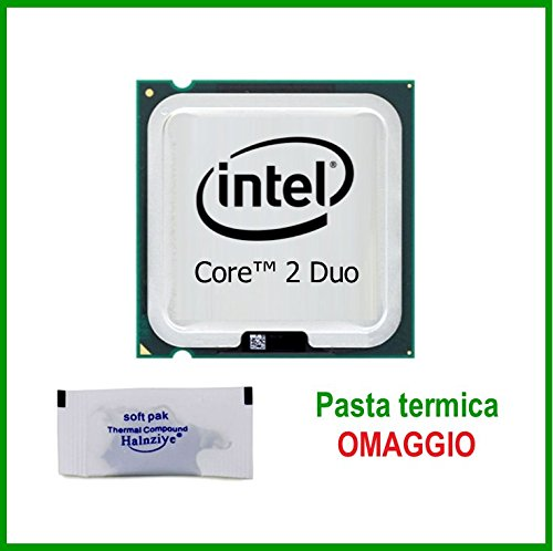 Intel CPU Core2Duo 3.16 GHz E8500 3.16GHz/6M/1333 Socket 775 Processore C2D