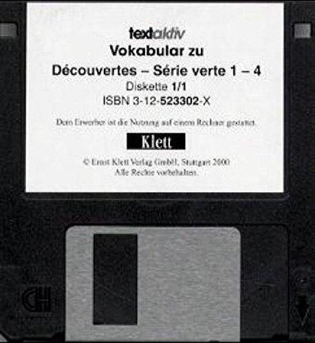 Etudes Francaises. textaktiv Vokabular Decouvertes 1-4 Serie verte. 3 1/2'-Diskette für Windows 3.1/95. (Lernmaterialien) -