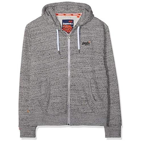 51hEHZUJ3AL. SS500  - Superdry Men's Orange Label Ziphood Hooded Sweatshirt
