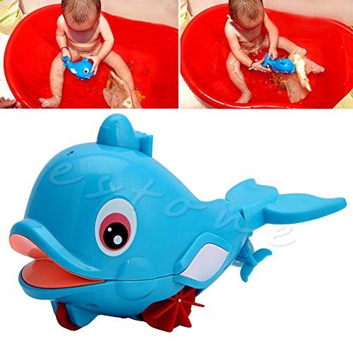 dairyshop Wal Squirting Baby Baden Spielzeug Wasser spielen Kunststoff Schwimmen Amphibious NEU