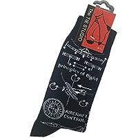 Tie studio Principles of Flight Socks in Navy