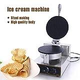 Gaufrier Fabricant de cornet de crème glacée Machine électrique Machine à cuire...