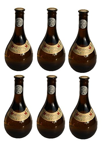 6x Retsina Kechribari geharzter Weißwein 11,5{d4d27d6cfc6682fe1f18f5ef11eddc248ea450845e2a00a58c0ea20616889efa} 500 ml Flaschen - + 2 Probier Sachets Olivenöl aus Kreta a 10 ml - aus Griechenland griechischer Weiß Wein