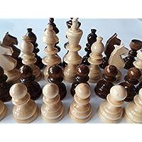 Gigant Holz Schachfiguren neu handgemachtes handpindelt spezielles braune Farbe des Entwurfes groß, König ist 4,72 Zoll oder 12 cm Geschenk spielzeug pädagogisches Brettspiel