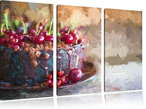 Celeste torta al cioccolato immagine 120x80 pennello