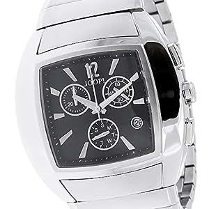 Joop Herren-Armbanduhr XL Icon Chronograph Quarz Edelstahl beschichtet JP100511F07