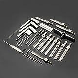 Yongse Kit de herramientas de cerrajería multifuncional herramientas de la cerradura Herramientas sistema de la selección