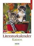 Literaturkalender Katzen 2018: Literarischer Wochenkalender * 1 Woche 1 Seite * literarische Zitate und Bilder * 24 x 32 cm - Korsch Verlag