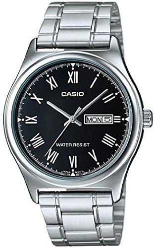 CASIO Reloj con Movimiento Cuarzo japonés MTP-V006D-1
