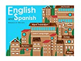 English and Spanish: Picture Dictionary for Kids