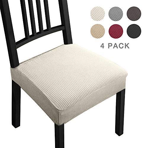 Fundas para sillas Pack de 4 Fundas sillas Comedor Fundas elásticas,Fundas de...