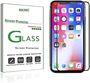 RKINC for Iphone XR Screen Protector, [1 Pack] Full Coverage Tempered Glass Clear Screen Protector [9H Hardnes