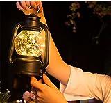 HAPPYMOOD Pelouse Lampe Chaîne LED lumières Fée Décoratif pour Noël Festival Intérieur extérieur mur Bureau Main Prise ou marche