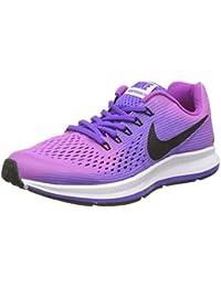 Nike Zoom Pegasus 34 Gs, Zapatillas de Running Niños