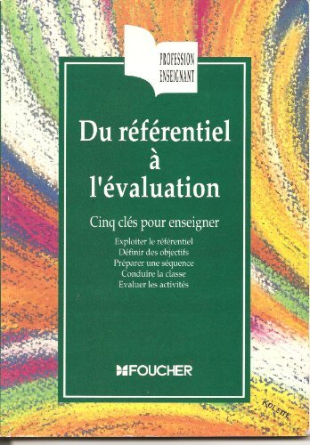 Du rfrentiel  l'valuation