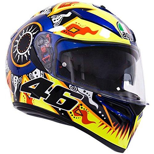 AGV K3-SV Rossi 2002 Motorrad Helm Helm Motorrad Gp