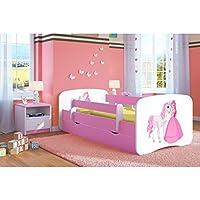 Pink Toddler Girl Bed Kids Bed Princess Horse Children