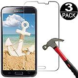 Cardana | 3X bruchsicheres Panzerglas für Samsung Galaxy S5 Mini | Schutzfolie aus 9H Echt Glas | angenehme Handhabung| Schutzglas zum Schutz vor Displayschäden