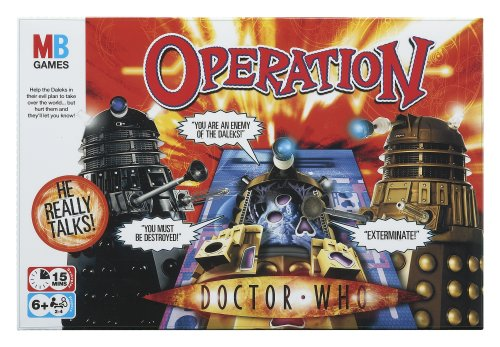 Hasbro Operation Doctor Who Spiel - Englisch