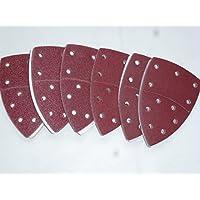 50 Klett-Schleifblätter 105 x 152mm Korn 120 für Multischleifer Prio;