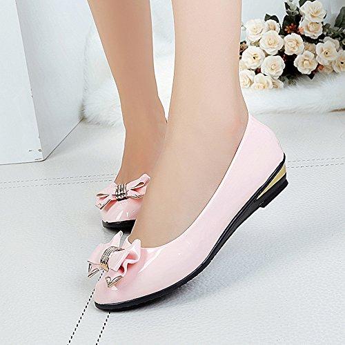 Fashion Donne Rosa del Casual Longra di partito primavera sera da scarpe 5Uxqxvwd