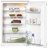 Amica EVKS 16172 Kühlschrank/A++ / 87,5 cm Höhe / 95 kWh/Jahr / 142 L Kühlteil/Antibakterielle Beschichtung / 3 Glasablagen Sicherheitsglas/weiß