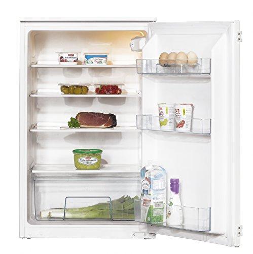 Amica EVKS 16172 Kühlschrank / A++ / 87,5 cm Höhe / 95 kWh/Jahr / 142 L Kühlteil / Antibakterielle Beschichtung / 3 Glasablagen Sicherheitsglas / weiß