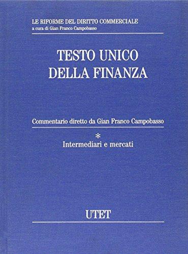 Testo Unico della finanza. Con CD-ROM