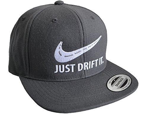 Petrolhead: Drift It - Cap für alle Tuning-, Drift-, und Motor-Sport Freunde - Classic Snapback Baseball Cap von Flexfit - Auto Tuner - Geschenk Auto-Merchandise Zubehör (One Size)