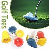 su-luoyu Gummi Winter Golf Tees Farbe Golftees, Outdoor Golf Sport Tees, Sport Golf Zubehör, Golfplatzgeräte Perfekt Für Golfer
