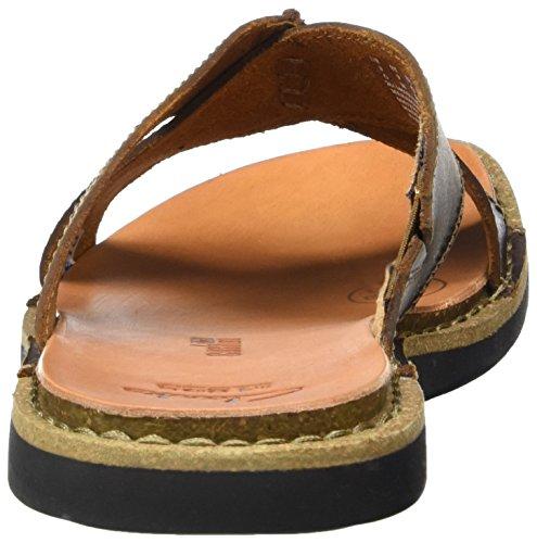 Clarks Lynton Easy, Sandales ouvertes homme Marron (Tan Leather)