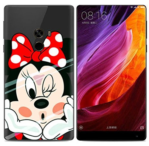PREVOA Funda para Xiaomi Mi Mix 2 - Colorful Silicona TPU Funda Case para Xiaomi Mi Mix 2 Smartphone - 14