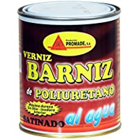Promade - Barniz Poliuretano Muebles Satinado al agua (750 ml)