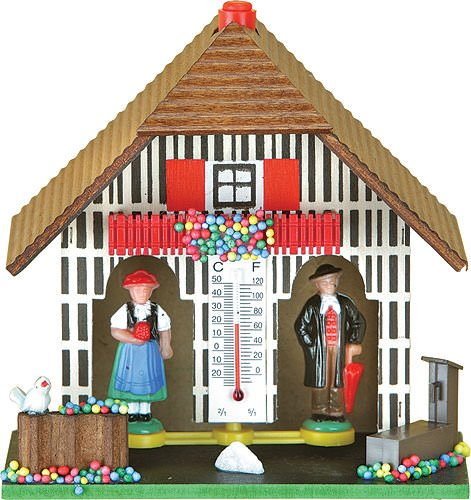 ISDD German Black Forest weather house TU 805