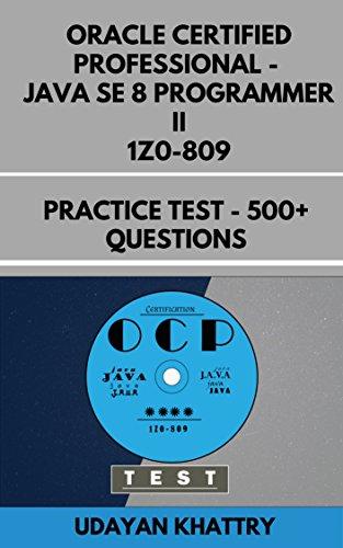 Oracle Certified Professional Java SE 8 Programmer II 1Z0-809 ...